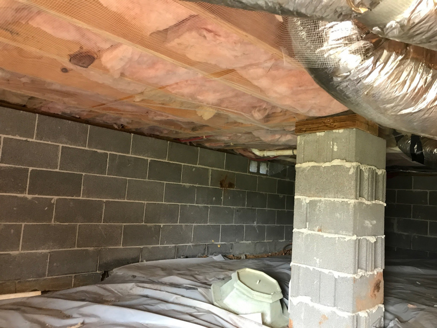Heat and Cool Your Home-Not Your Crawl Space